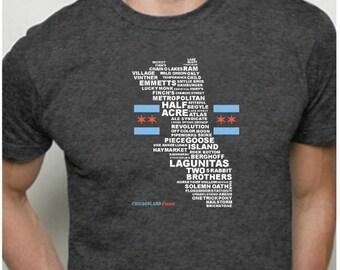 Chicagoland Brews T-Shirt (Chicago)