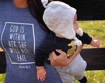 God is Within Her Adult Tee