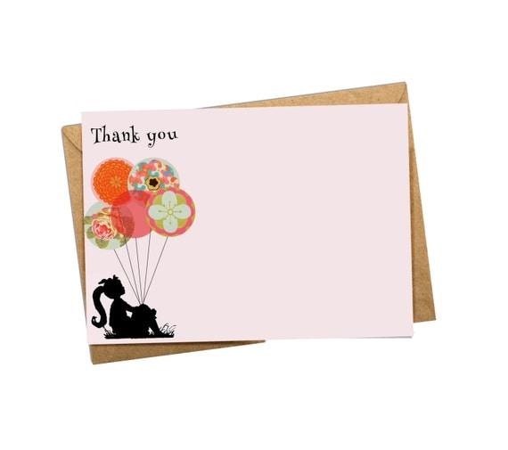 Thank you card. Digital.