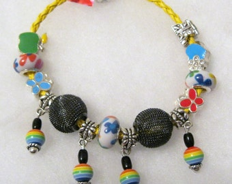 346 - CLEARANCE - Bright Beaded Bracelet