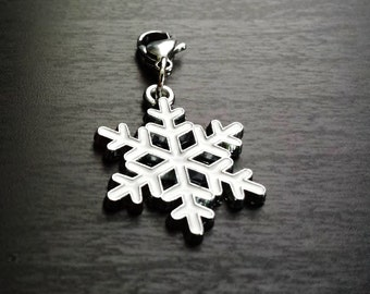 Snowflake Dangle for Floating Lockets-Gift Ideas for Women