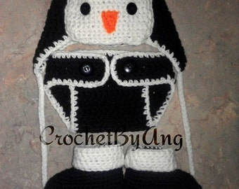 penguin baby set photo prop halloween costume newborn 9 months custom set - Infant Penguin Halloween Costume