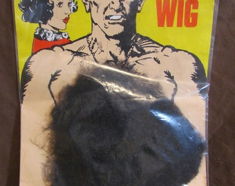 Vintage Carnival Supply, Chest Wig, England, 1970's