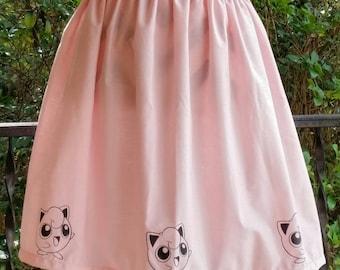 Pokemon Jigglypuff Inspired Skirt