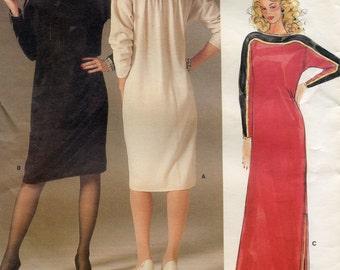 Vogue 1389 Women's Dress Pattern Size 14. Vintage 1980s