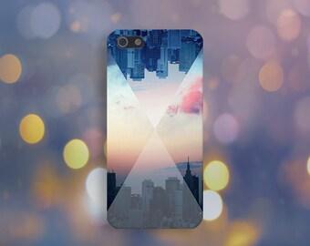Metropolitan Reflection Sunset Case, NYC, iPhone 7, iPhone 7 Plus, Tough iPhone Case, Galaxy s8, Samsung Galaxy Case, Note 5, CASE ESCAPE
