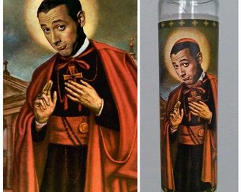 "Pee Wee Herman Prayer Candle. Saint Pee Wee! Great gift! Premium Handmade 9"" Soy Candle!"