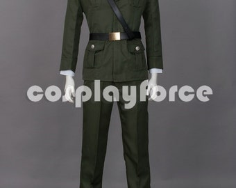 Hetalia Axis Powers(APH) England(UK) Military Cosplay Costumes