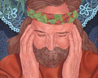 Peter Denies Jesus - Canvas Painting Reproduction