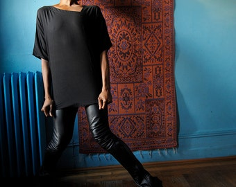 ANIL Asymmetrical Neckline Tunic // South Indian Cotton