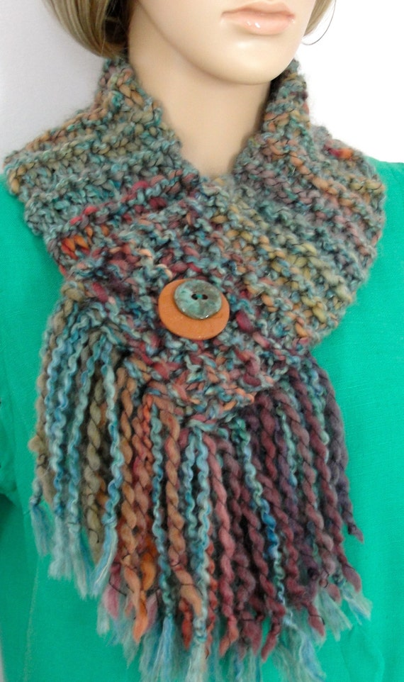 Handmade Knitted Collar Cowl Soft Neck Scarf by MrEagleShop