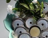 Lotion Bar - Winter Gardenia - Handmade - Natural - Lanolin - Hands, body, travel, gift