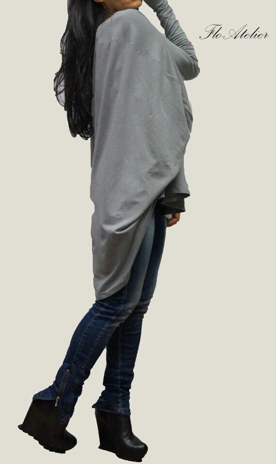 Gray Cotton Blouse 69