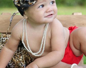 Baby Headband, Leopard Flower Headband, Cheetah Baby Headband, Big Flower Headband, Flower Girl Headband, Leopard Big Flower Headband, 914