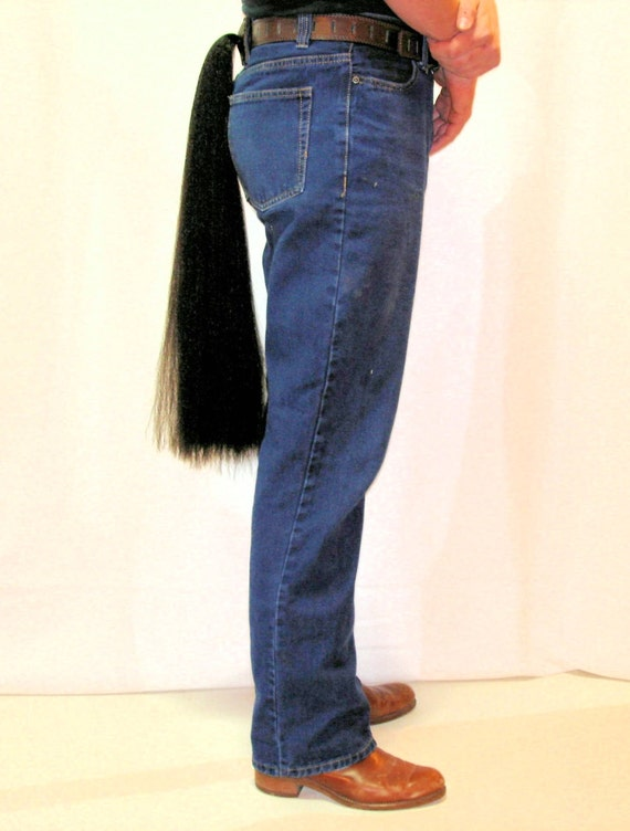 how to make a horse tail costume