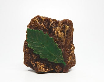 Tree Bark & Leaf Handmade Soap - Choose your Scent
