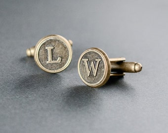 personalize cufflinks groomsmen cufflinks groomsmen gifts gifts for him mens cufflinks initials wedding personalize gifts monogram cufflinks