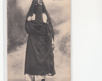 1900s Ethnic,Exotic,Native Egyptian Woman Antique Postcard