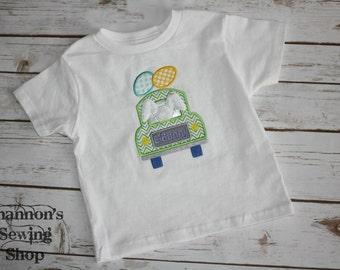 Easter Bunny Truck Shirt