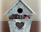 Decorative Bird House - Wood  - OFG, FAAP, HAFAIR