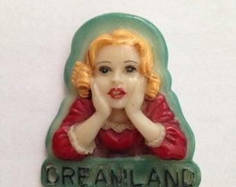 Cute Dreamland pin