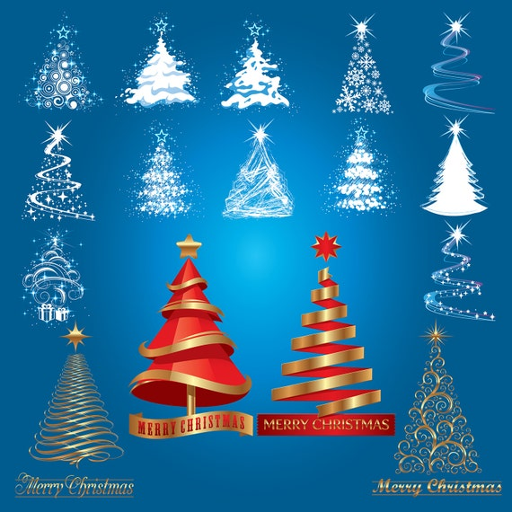 digital art christmas tree - photo #30