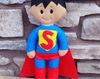 Plush Super Hero Doll - Superman