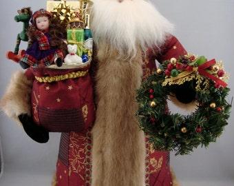 Royal Santa - Santa Claus Doll- Handmade Santa