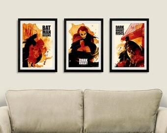 Vintage Trilogy Poster Set B - Set of 3 Posters