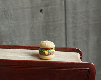 Burger Bookmark Paperclip