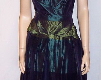 Ardause-Paris Label-Silk Taffeta Halter-Neck Gown