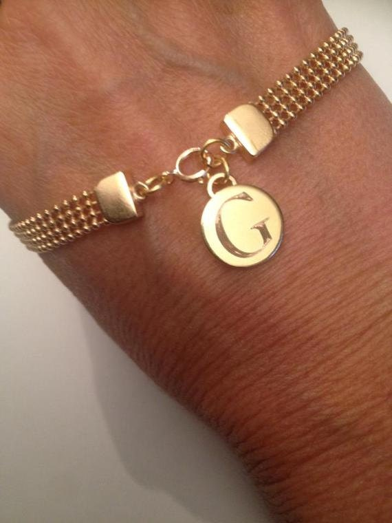 engraved gold bracelet personalized bracelet custom