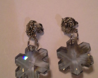 Snowflake Earrings E 179