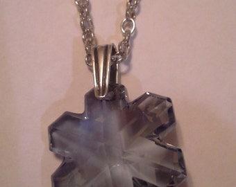 Snowflake Necklace N 156
