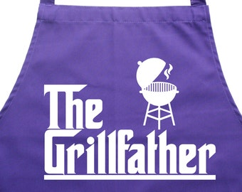 The Grill Father. Kitchen Cooking & Bbq apron