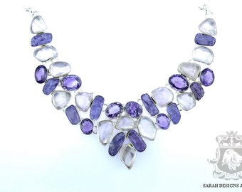 Russian Charoite 925 SOLID Sterling Silver NECKLACE