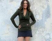 ORGANIC Gypsy Darjeeling Shirt (hemp/organic cotton fleece) - organic shirt