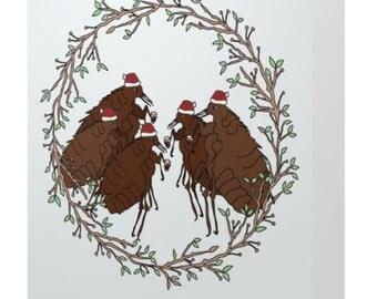 Fleas Navidad Holiday Card