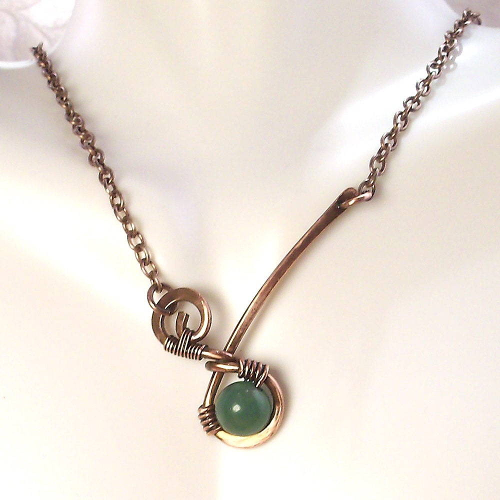 Metal Wire For Jewelry : Jewelry wire wrapped handmade copper metal artisan pendant