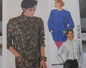 McCall's 2245 - Cool 1980s Jacket - Mandarin or Nehru Style - Size 10 (Bust 32.5) - Classy & Snazzy