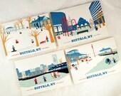 A Buffalo Christmas with Buffalo Cards for the Holidays, A Winter Wonderland - 8