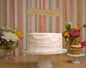 Custom Cake Banner - Kraft - Wedding Cake Topper