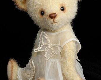Mohair Stuffed Teddy Bear pdf Pattern – Angela – Bingle Bears by Cheryl Hutchinson – Instant Download