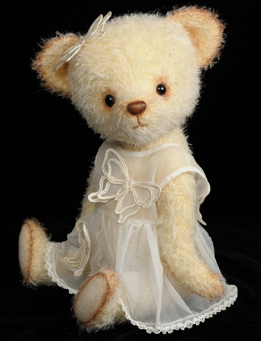 Mohair Stuffed Teddy Bear Pdf Pattern Angela Bingle Bears