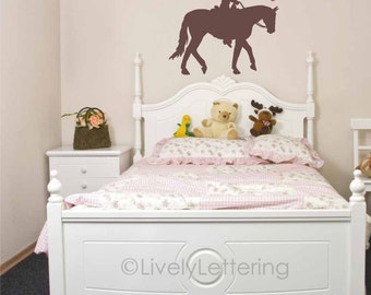 Horse Wall Decals Etsy - Wall decals horses