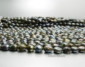 Black Pearls, Brown Pearls, Purple Pearls, Iridescent Beads, Rusted Freshwater Pearls, Scorched Earth