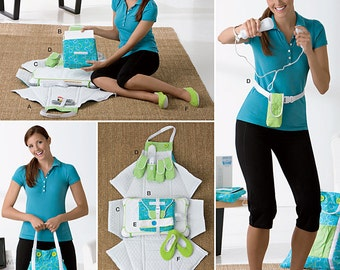 Sew & Make Simplicity 2438 SEWING PATTERN - Video Gamers Exercise Accessories