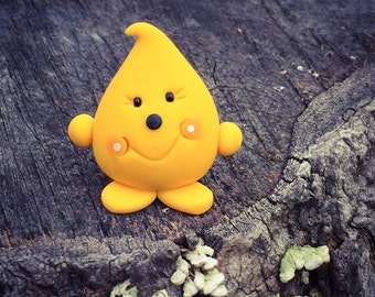 The Original PARKER - Polymer Clay Miniature Figurine - Whimsical Character