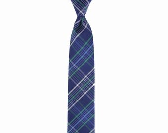 Paul - Blue/Green Plaid Men's Tie