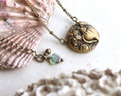 Sea Shells Necklace, Shell Jewelry, Beach Wedding Jewelry, Gold Shell Jewellery, Shell Pendant Necklace, Beach Bridesmaid Gift, Seashell Art